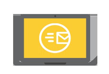 Recevez un email de confirmation